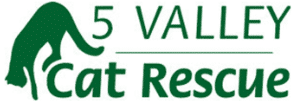 5 Valley Cat Rescue Logo